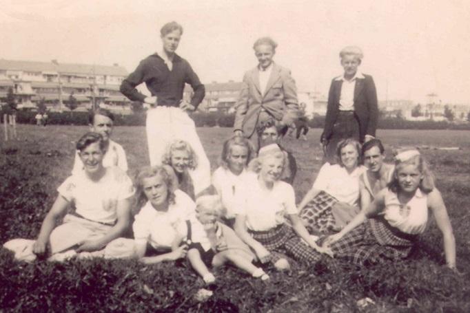 afb VT117. Atletiekvereniging Zevenhuizen ca 1953